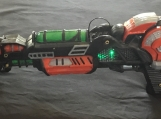 COD Black Ops Zombies Mark 2 Ray Gun Replica LED Green Lighting