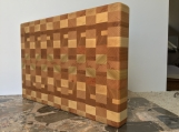 End grain cutting board - handmade -