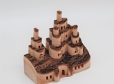 Handcraft Collapsible Wooden Castle - 1702