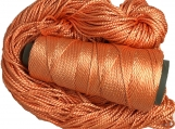 handtied 2 ply Mulberry Silk Yarn -, 50 Grams,