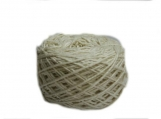 Mulberry Spun Silk Yarn 4 NM Natural Colour(100 Grams)