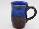 Tall Mug - Brown with Indigo Float Blue - 155300