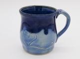 Two Tone Blue Mug - 154442