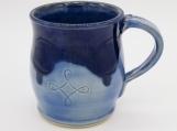 Two Tone Blue Mug - 154617