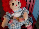 20'' Hand Crafted Classic Cloth Raggedy Ann Doll with red hair