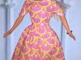"9 Piece Set of Doll Dresses for 11 1/2"" Fashion Dolls"