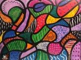 Abstract  Painting Original