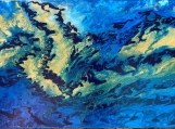 Acrylic Flow Painting