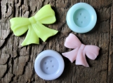 Buttons and Bows Organic Shea Butter Soap Favors