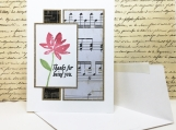 Floral Handmade Thank-You Card