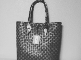 Karl Anne Eco-Friendly Handwoven Washable Beach Tote Bag