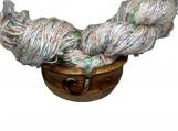 Knitsilk Indian Banana Silk Tie & Dyed Yarn 400-500 Grams .