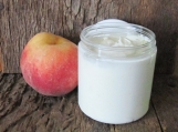 Organic Peach Mango Whipped Body Butter 6 oz