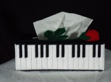Piano With Rose Tissue Cover