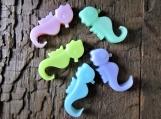 Three Tiny Sea Horses Organic Shea Butter Soap Favors