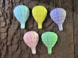 Tiny Hot Air Balloons Organic Shea Butter Soap Favors