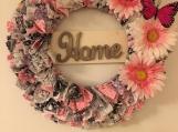 Welcome Home Rag Wreath