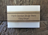 Ylang Ginger Organic Goats Milk Soap Bar
