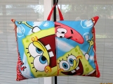 PILLOW  child travel pillow Sponge Bob Square pants with pocket