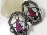 Death Becomes Her Earrings - Sterling and Fine Silver Coffins