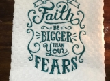 Faith-Dish Towel