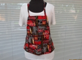 GROW-WITH-ME child's apron Cars with pockets