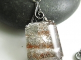 Milky Way Necklace - Sterling Silver, Phantom Quartz and Tourmaline