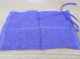 Purple sanitary travel roll