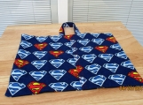 PILLOW case Replacement pillow case Superman flannel