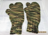 camouflage  HUNTERS mittons