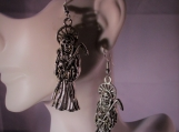 Grimm Reaper metal ear rings