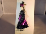 Weird friends lapel  pin or pendant spanish dancer