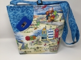 Beach Scene Cross Body Bag