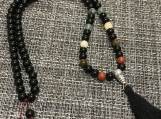 Chakra Bead Mala Prayer/Meditation Necklace
