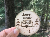 Happy Camper Magnet,Camper Lover Gift, RV Accessories