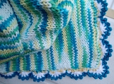 Ocean Mermaid colors blanket for a child, couch living room