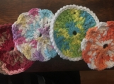 Set of 4 Dish Scrubbies