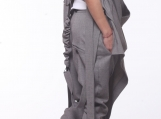 Asymmetric Vest and Harem Pants / Women Costume PS0005