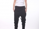 Women Harem Pants / Baggy Pants / Black Trousers  PP001