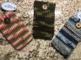 Camo Colored Cell Phone Cozies