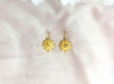 Citrine Vermeil 14K Gold Over Sterling Silver Earring