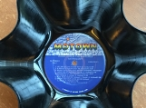 Dianna Ross and The Supremes Genuine LP Record Bowl