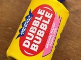 Double Bubble Pop Art Silk Screened on Canvas Gum  Sculpture
