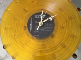 Elvis Presley Genuine Vinyl  Gold LP Record  Clock