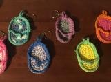 Crochet Flip Flop Keychains
