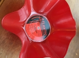 J. Girls Band Genuine LP Record Bowl coveted Red Vinyl