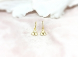 Pearl Vermeil 14K Gold Over Sterling Silver Earring