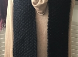 Women's Pocket Scarf - Black