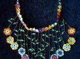Beaded multicolornecklaces Mayan Style (Indigenous Jewelry)