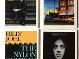 Billy Joel Tile Drink Coasters 4 Piece Set